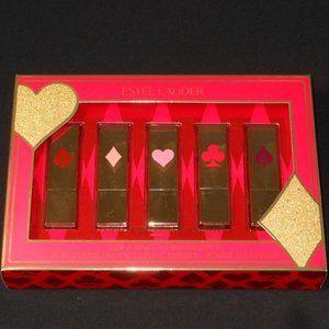 Estee Lauder 5 full sizes lipstcks set.